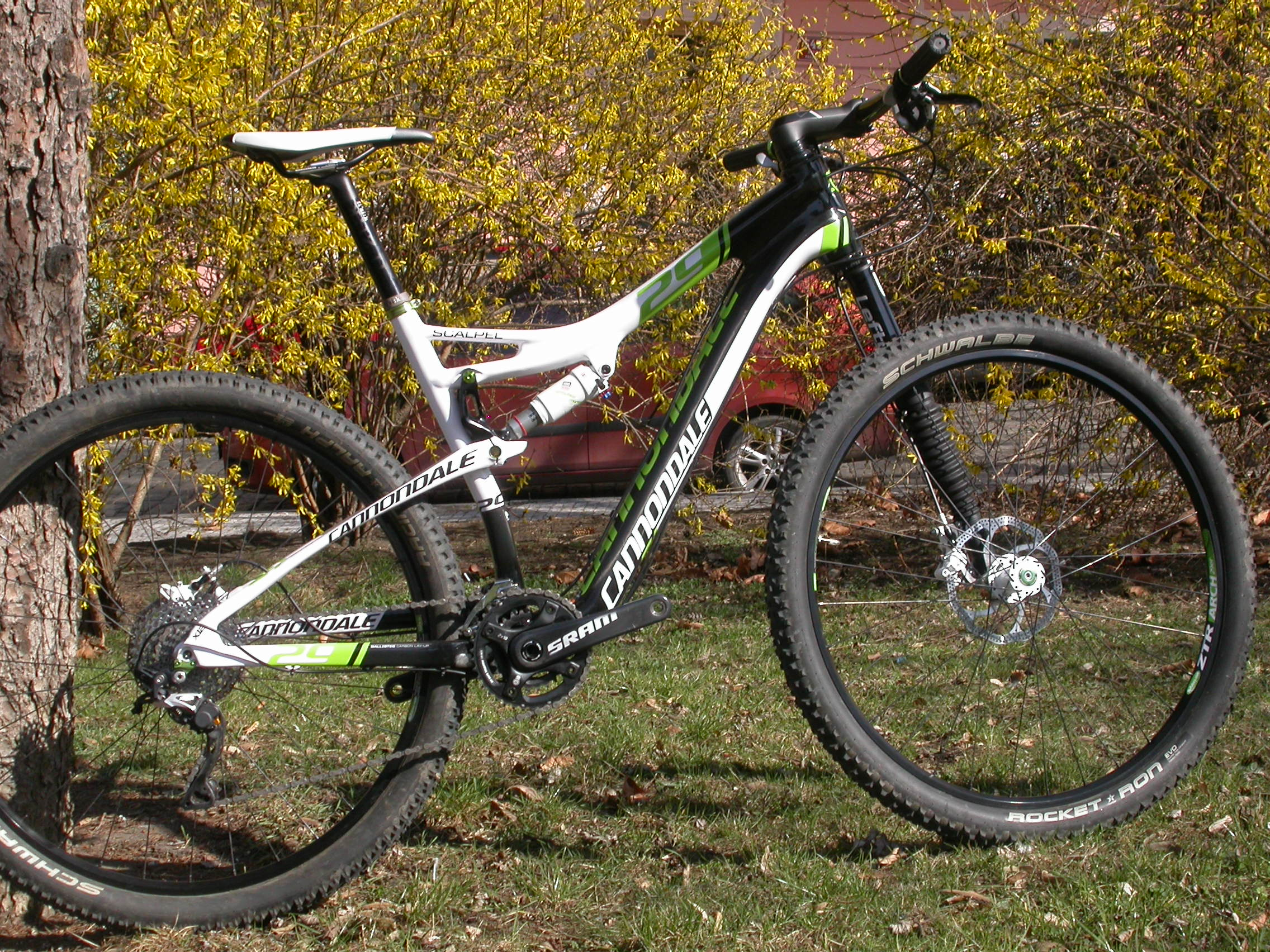 Cannondale Scalpel 29er Carbon 2 2012