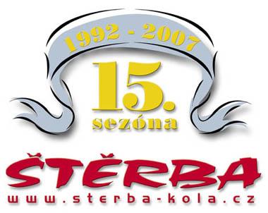 Logo 15 let firmy ŠTĚRBA