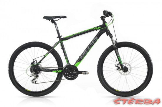 Kellys VIPER 30 BLACK GREEN 26 2017
