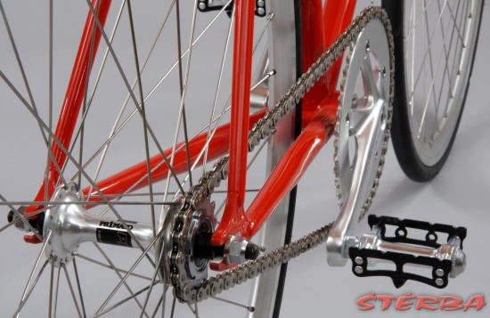 Štěrba Dráhové kolo, Fixed gear, Festka 2011