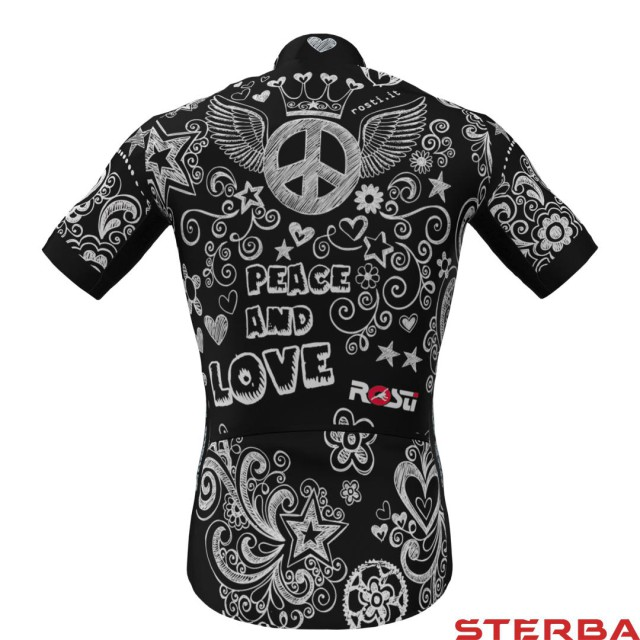 Dres KR Rosti Peace and Love dlouhý zip