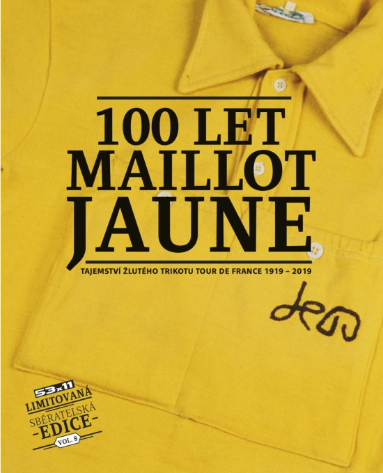 Kniha 100 LET MAILLOT JAUNE