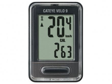 Cyklopočítač CATEYE Velo 9 (VL820)