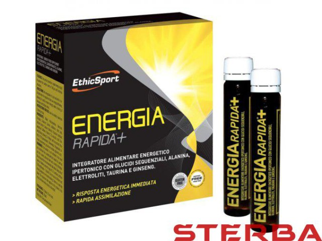 ETHICSPORT ENERGIA RAPIDA + 10x25ml