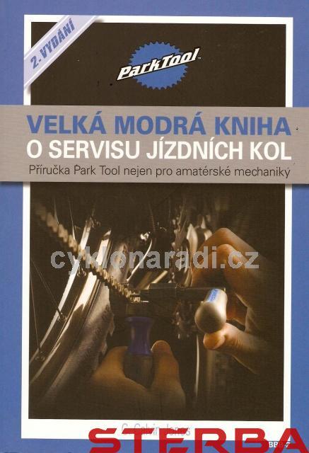 KNIHA Velká modrá kniha o servisu jízdních kol